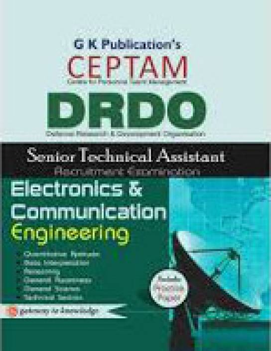 DRDO (CEPTAM)Sr.Tech. Asst. Electronics & Communication Engg. (Code - OT-312) 5/e 5th  Edition