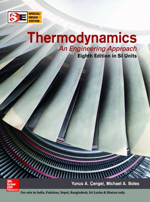 Thermodynamics: An Engineering Approach 8 Edition