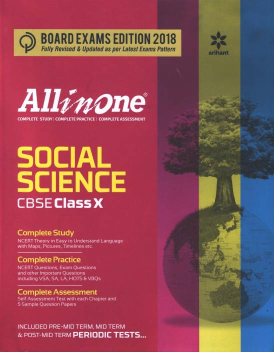 All in One Social science CBSE Class 10 (X)