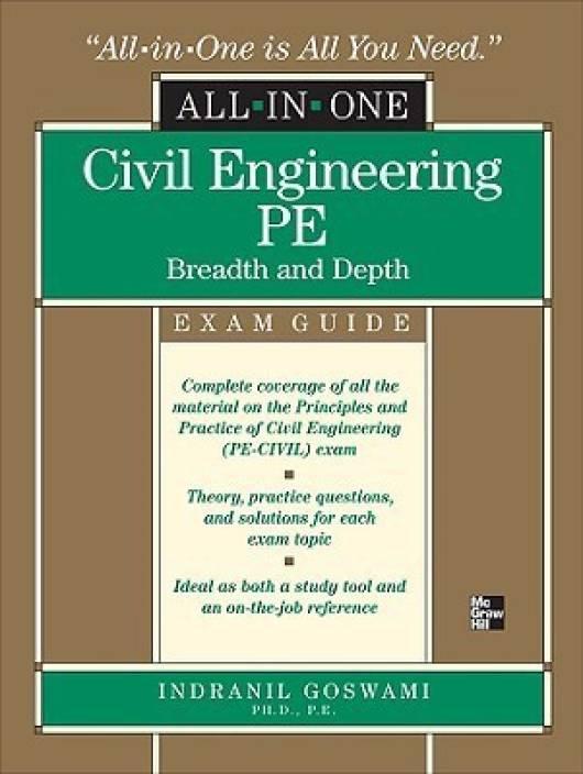civil engineering pe practice exams breadth and depth pdf
