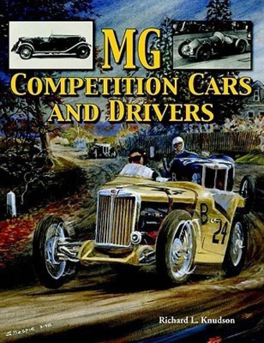 MG Competition Cars and Drivers: Buy MG Competition Cars and