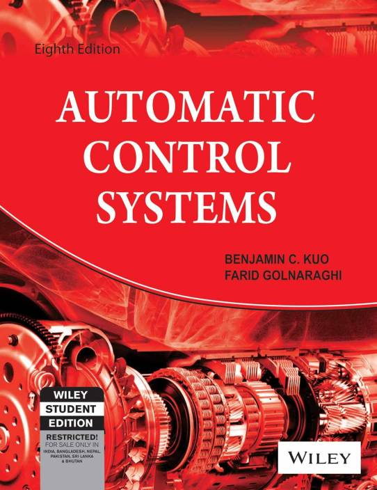 Automatic Control Systems (With Cd) 8th  Edition
