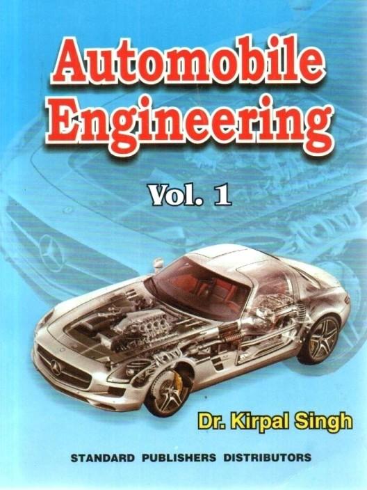 Automobile Engg Book Pdf