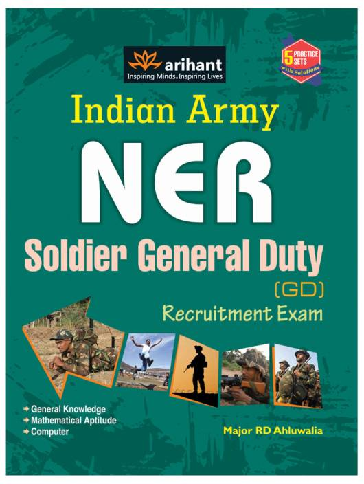 NER - Indian Army Soldier General Duty (GD) Recruitment Exam 4th Edition