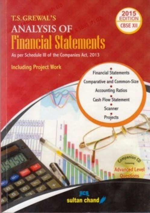 Cash Flow Statement Class 12 Ts Grewal: T.S.Grewal7s Analysis of Financial Statements Class-12 Revised ,Chart