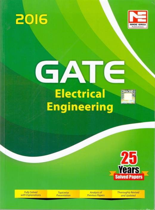 GATE Electrical Engineering 2016 Edition