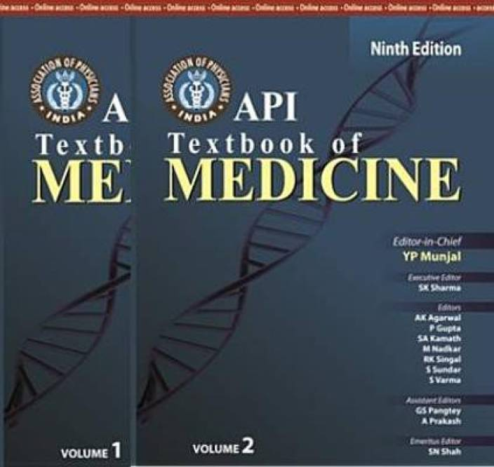 API Textbook of Medicine (Set of 2 Volumes) 9th Edition