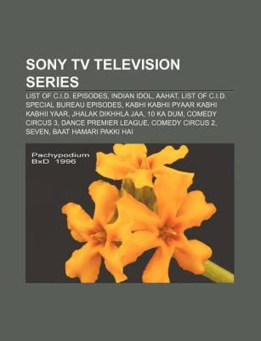 Sony TV television series: List of C I D  episodes, Indian