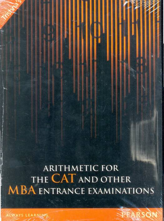 Image result for Arithmetic For The CAT And Other MBA Examinations (Paperback) by Time