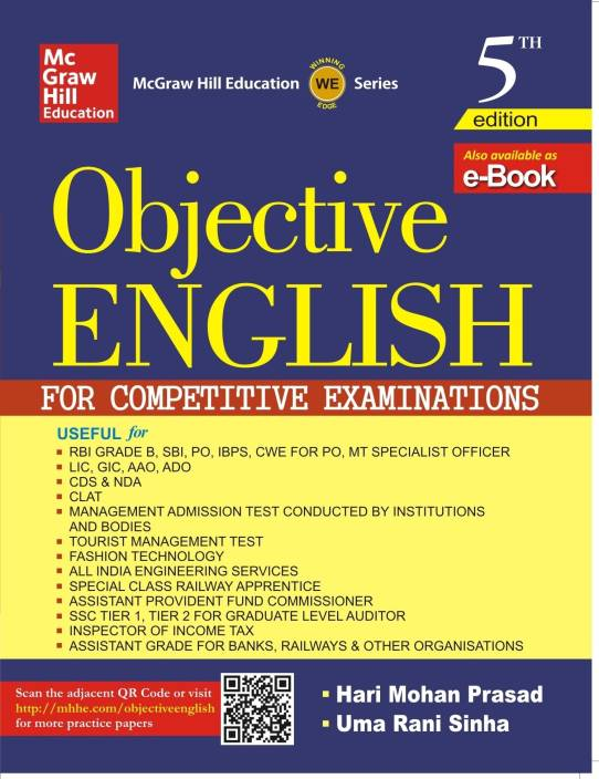Objective English for Competitive Examinations 5th  Edition
