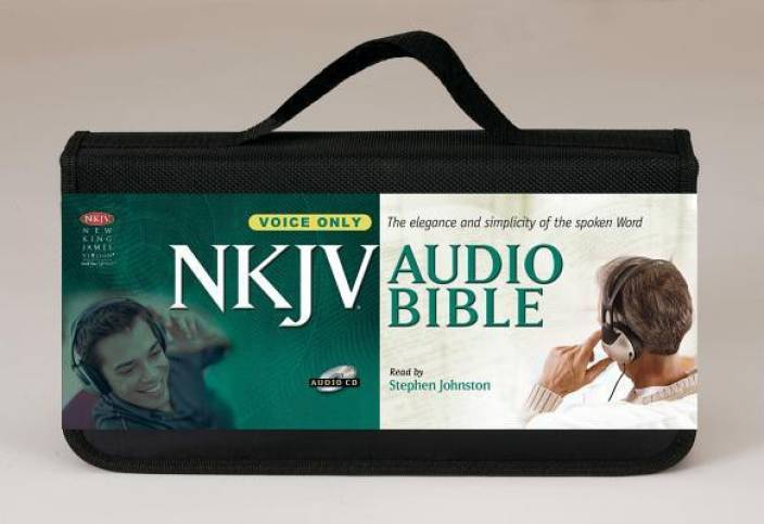 New King James Version Audio Bible, Voice Only: Buy New King