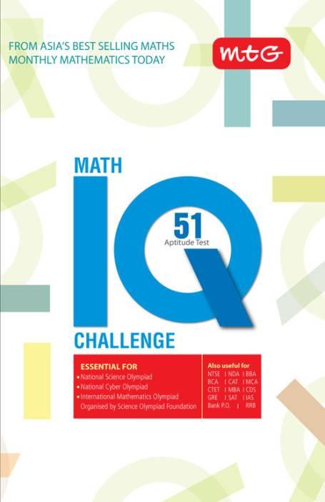 Math IQ Challenge : 51 Aptitude Test: Buy Math IQ Challenge