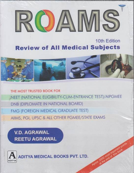 Roams : Review of All Medical Subjects 10th Edition