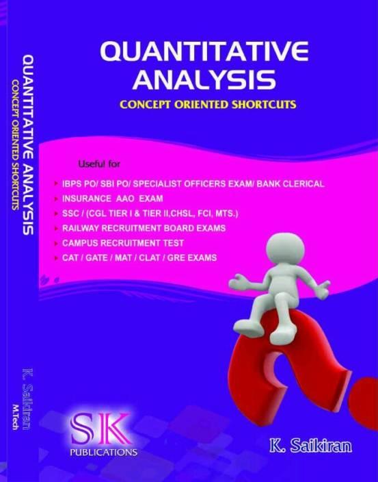 Quantitative Analysis  Buy Quantitative Analysis Online At Best