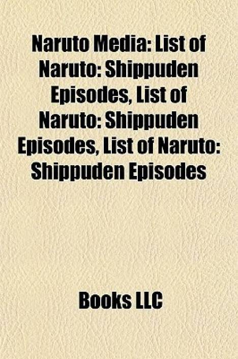Naruto Media: List of Naruto: Shippuden Episodes, List of Naruto: Shippuden Episodes, List of Naruto: Shippuden Episodes
