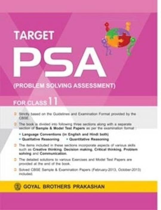 Target PSA (Problem Solving Assessment) 2nd  Edition