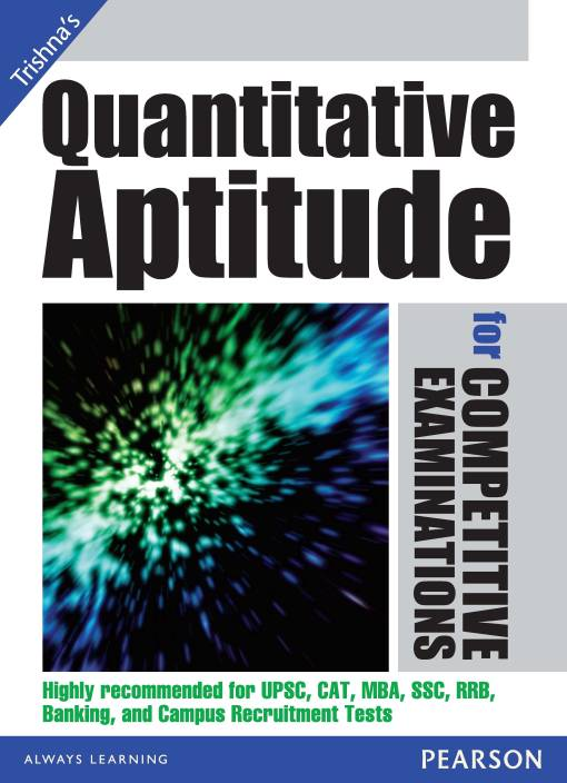 Quantitative Aptitude for Competitive Examinations 1st  Edition