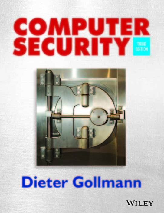 a9bcb8e1e Computer Security 3rd Edition - Buy Computer Security 3rd Edition by DIETER  GOLLMANN Online at Best Prices in India - Flipkart.com