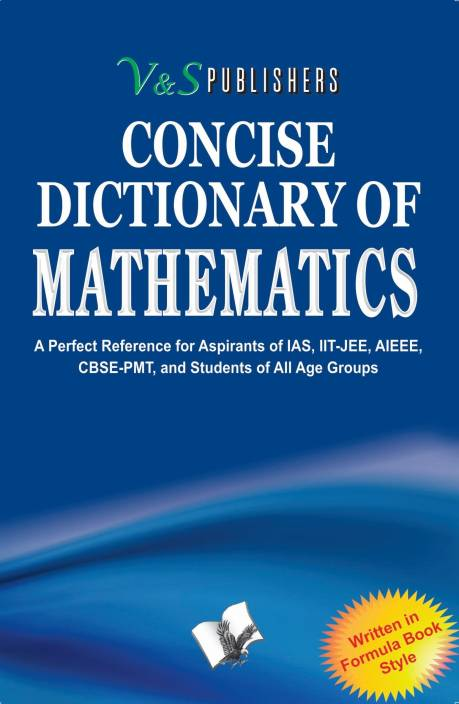 Concise Dictionary of Mathematics