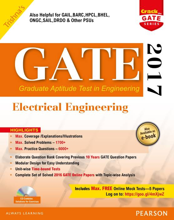 GATE Electrical Engineering 2017 2017 Edition