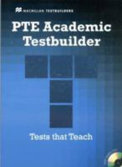 Pte Academic Testbuilder: Student's Book + Audio Pack-English-Macmillan  (With CD)