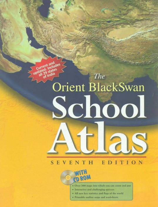 Orient Black Swan School Atlas 7/e