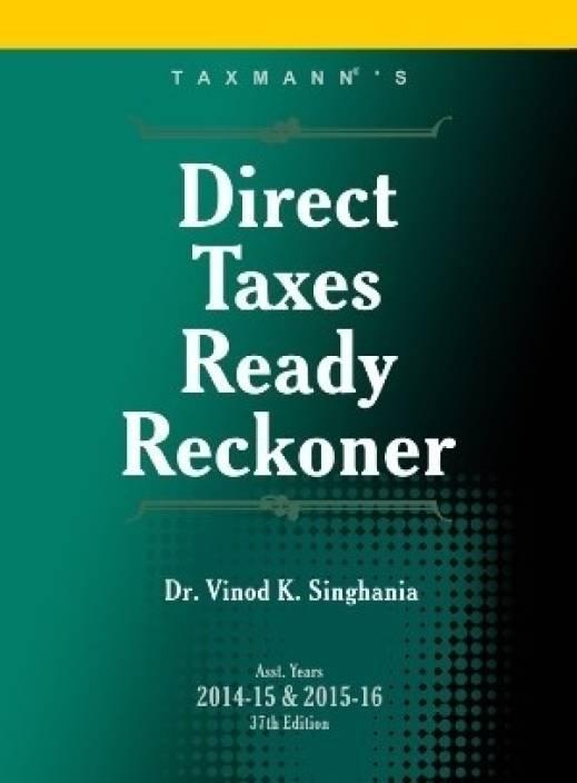 Taxmann Direct Taxes Ready Reckoner