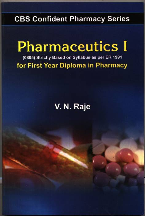 Pharmaceutics 1- For First Year Diploma In Pharmacy 1st Edition: Buy