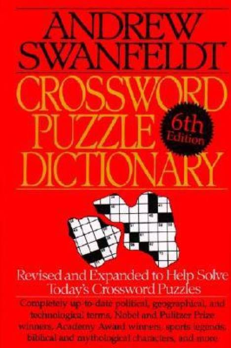 Crossword Puzzle Dictionary Revised And Expanded To Help Solve
