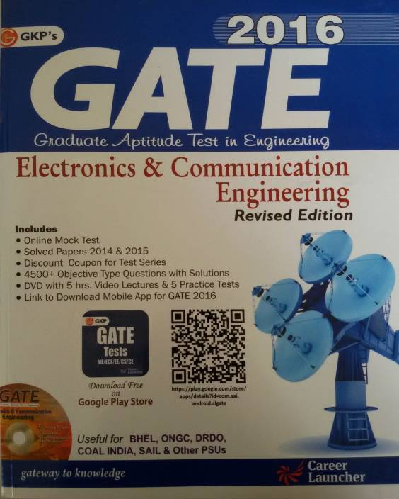 GATE Guide Electronics & Communication Engg 2016 2016 Edition