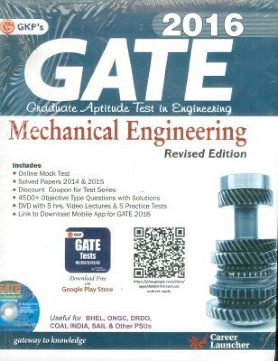 GATE Guide Mechanical Engg. 2016 2016 Edition