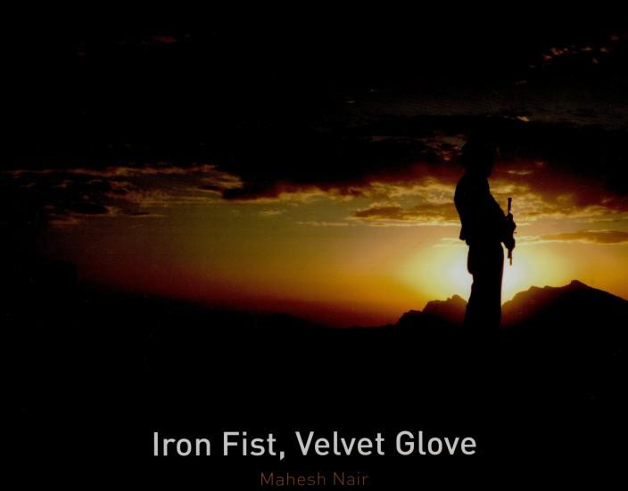 Were visited fist gloves in iron velvet this