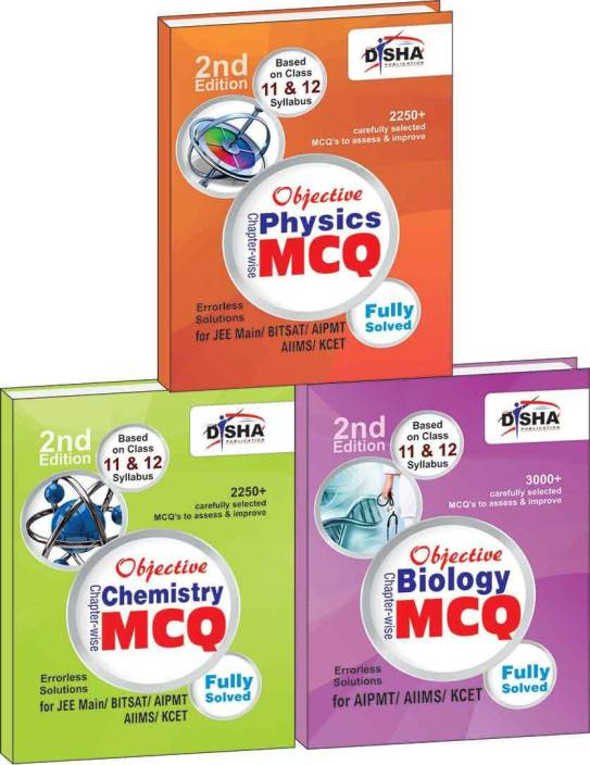 Objective Physics, Chemistry, Biology: Chapter-wise MCQ for AIPMT