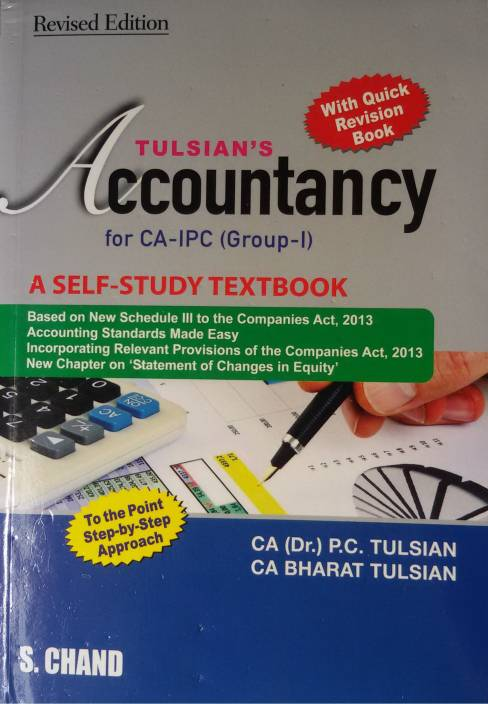 TULISAN'S ACCOUNTANCY FOR CA-IPCC WITH QUICK REV. (GROUP-I) 2 Edition