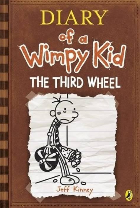 Diary of a wimpy kid the third wheel book 7 buy diary of a diary of a wimpy kid the third wheel book 7 solutioingenieria Choice Image