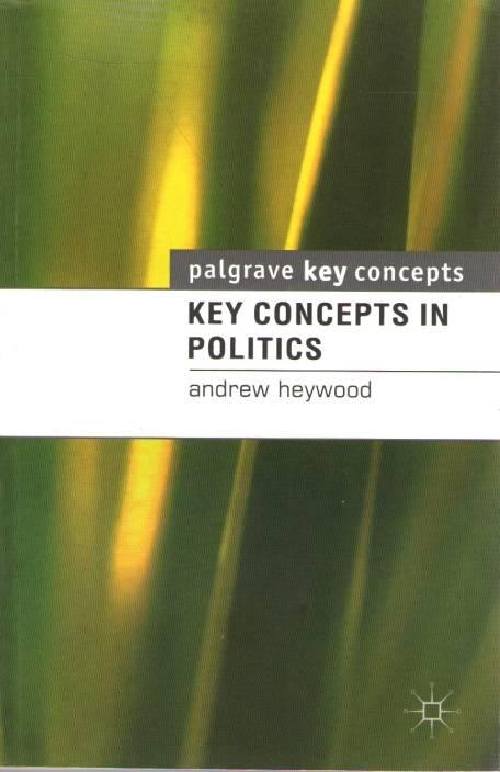 Key Concepts In Politics PB 1st Edition