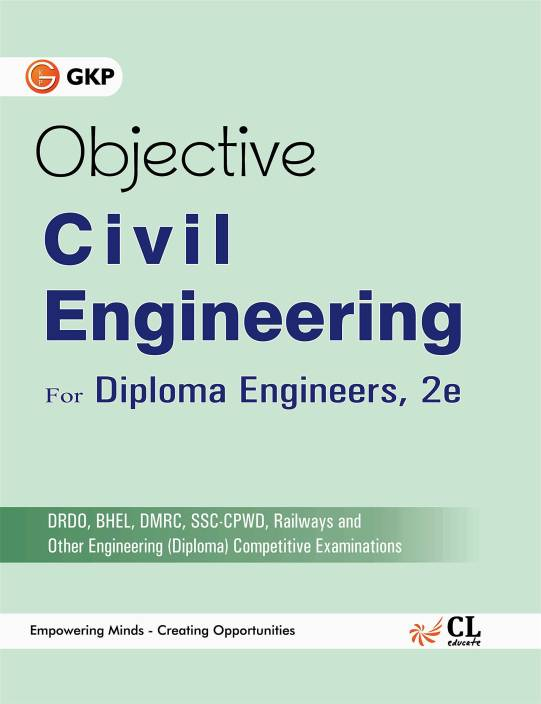 Objective Civil Engineering for Diploma Engineers 2016