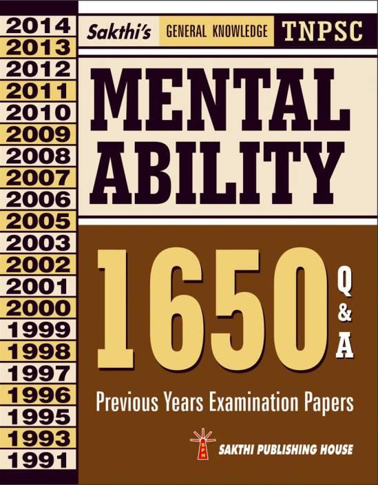 Tnpsc Mental Ability