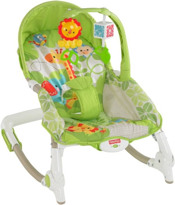 fdb66baa1f35 Fisher-Price Newborn to Toddler Portable Rocker Electric Bouncer ...