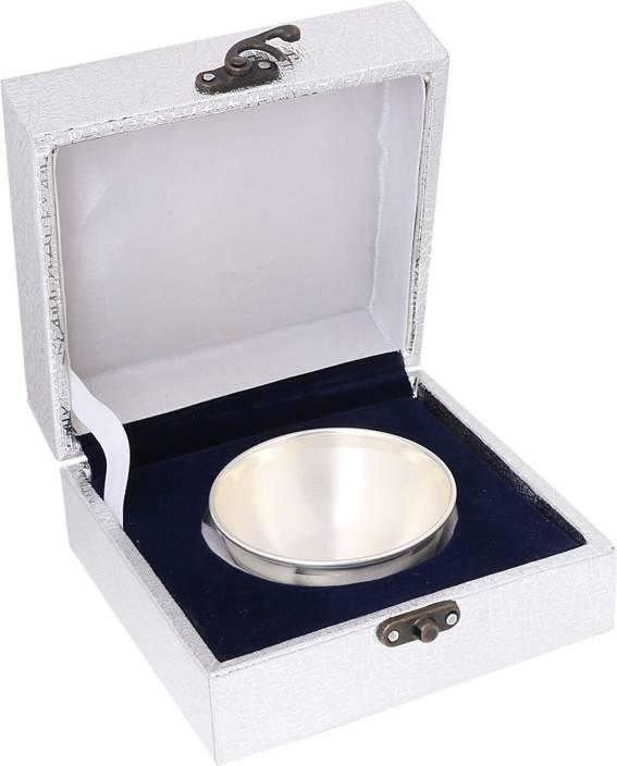 Osasbazaar Pure Silver Bowl for Pooja & Dessert - 97%-99% BIS Hallmarked  Silver Bowl