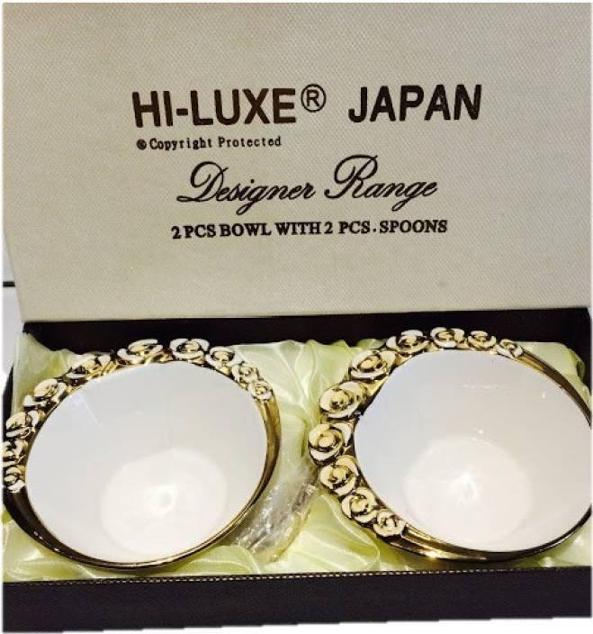 3b25a474c6a1 Hi Luxe Bone China Bowl Set Price in India - Buy Hi Luxe Bone China ...