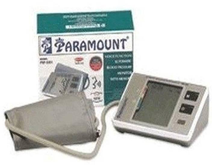 Paramount 5387 Talking Digital Blood Pressure Monitor - With Fuzzy Logic Bp Monitor
