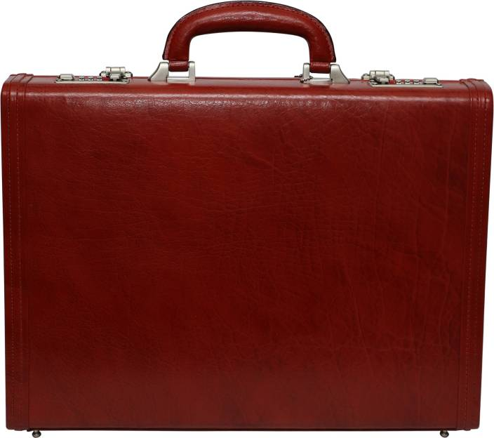 417893665916 C Comfort Genuine Leather Office Bag Medium Briefcase - For Men (Tan)