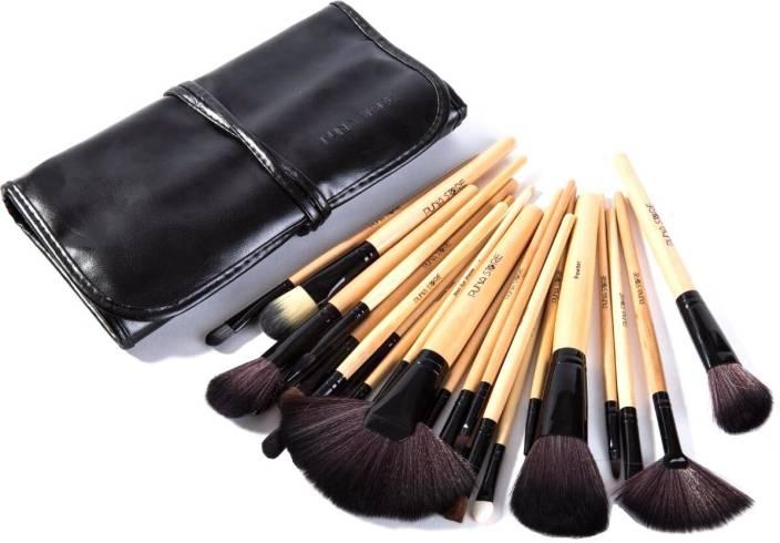 Puna Store Makeup Brush Set With Leather Bag - Price In India Buy Puna Store Makeup Brush Set ...