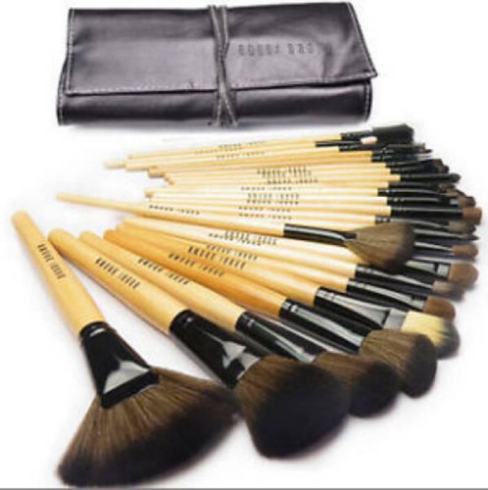 bobbi brown brushes price. bobbi brown professional makeup brushes sets with soft black bag price