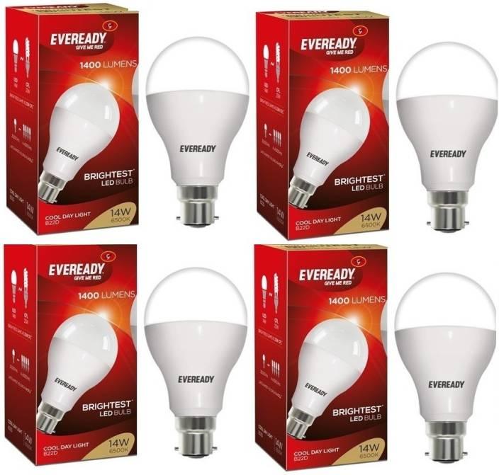 Eveready 14 W Round B22 LED Bulb