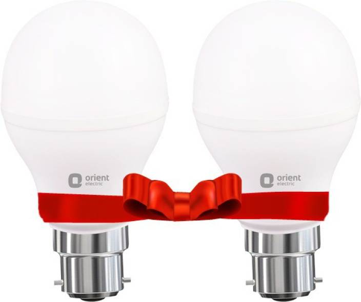 Orient Electric 12 W Standard B22 LED Bulb (White, Pack of 2)