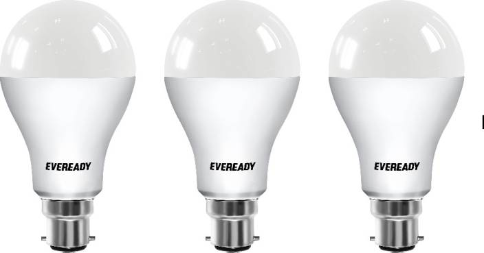 Eveready 12W LED Bulb with Free 6 Batteries