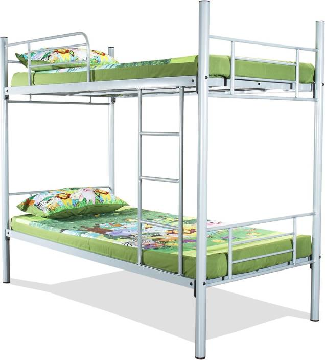 ff09c534dd95 FurnitureKraft Rome Metal Bunk Bed Price in India - Buy ...