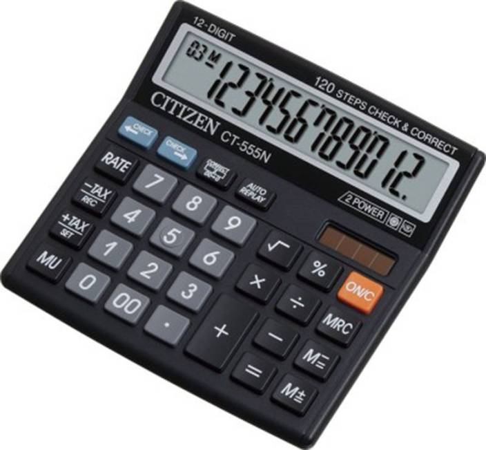 Amazon. Com: colorful calculators, large lcd display 12 digit.